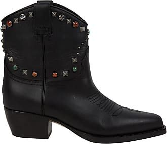 Pre-owned - Leather cowboy boots Valentino