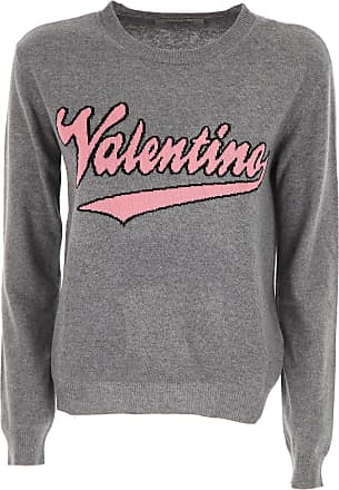 Sweater for Women Jumper, Black, Viscose, 2017, 10 12 8 Valentino