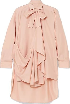 Valentino Woman Embellished Silk-crepe Blouse Saffron Size 40 Valentino