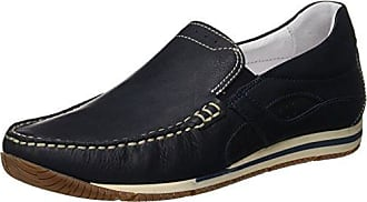 VALLEVERDE Scarpa, Mocasines (Loafer) para Mujer, Azul (BLU BLU 18ee), 39 EU