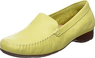 Sanson, Damen Mokassins, Yellow (Citron), Gr. 38 EU (5 UK) Van Dal