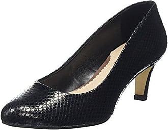 Zapatos de Tacón de Cuero Mujer, Color Negro, Talla 37 1/2 Van Dal