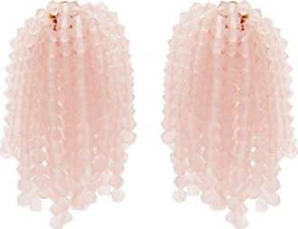 Vanda Jacintho Shower bead-embellished clip-on earrings