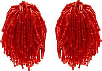 Shower beaded clip-on earrings Vanda Jacintho