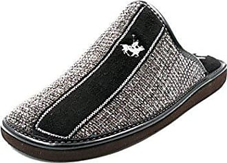 VANITY 1190 12 Negro/Gris, Herren Espadrilles , Schwarz - Schwarz - Größe: 45