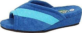 VANITY , Damen Hausschuhe, blau - blau - Größe: 38