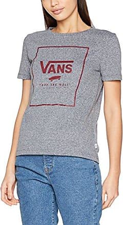 Vans Boxed, Camiseta para Mujer, Gris (Gray Heather), 42 (Talla del Fabricante: X-Large)