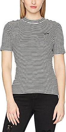 Vans Shine on Top, Camiseta Para Mujer, Negro (Marshmallow), 10 (Talla del Fabricante: Medium)