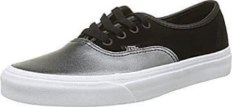 Vans Damen Classic Slip-on Seasonal Leather Sneaker, Mehrfarbig (2-Tone Metallic/Black/True White), 38.5 EU