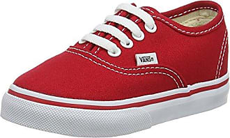 Vans ATWOOD, Unisex-Kinder Sneakers, Rot ((Canvas) red/wh 5GH), 31 EU