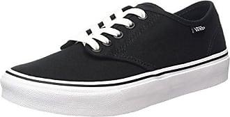 Vans Camden Stripe, Sneakers Basses Femme, Blanc (Canvas/White/White), 40.5 EU (7 UK)
