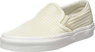 Vans Classic Slip-on, Zapatillas Sin Cordones para Mujer, Varios Colores (Vintage Indigo/Chalk Pink Qf5), 35 EU