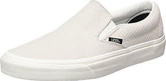 Vans Classic Slip-on, Zapatillas Sin Cordones para Mujer, Varios Colores (Vintage Indigo/Chalk Pink Qf5), 42 EU