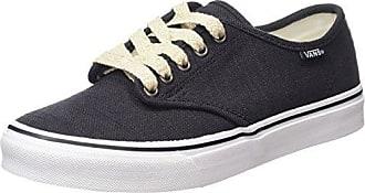 Camden Stripe, Sneakers Basses Femme, Noir (Canvas/Black/White), 40.5 EU (7 UK)Vans
