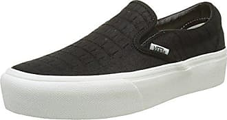 Vans Authentic Seasonal Leather, Sneaker Donna, Multicolore (2-Tone Metallic/Black/True bianca), 43 EU