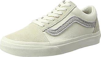 Vans Authentic, Chaussures de Running Femme, Ivoire (Birch/TRUE White), 35 EU
