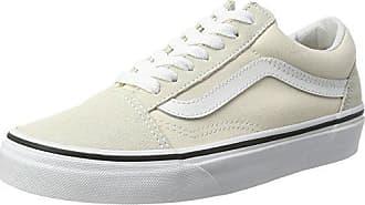 Vans Old Skool Platform, Zapatillas de Entrenamiento para Mujer, Verde (Grape Leaf/true White), 42.5 EU