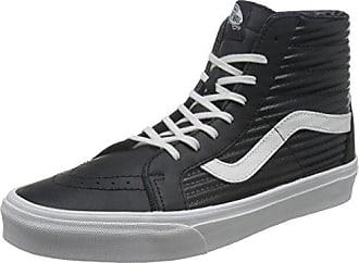 W Milton Hi, Baskets mode femme - Noir (Blk/Wht), 38.5 EU (8.0 US)Vans