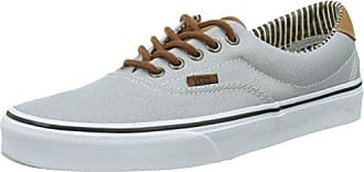 Vans Era 59, Zapatilla Baja Unisex Adulto, Gris (Mono T&L/Brushed Nickel), 34.5 EU