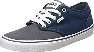 Atwood, Sneakers Basses homme, Gris (Canvas/Pewter), 38.5 EU (5.5 UK)Vans