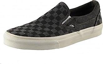 Vans Classic Slip-on, Unisex-Erwachsene Sneakers, Schwarz (Lizard Emboss/Black/Blanc De Blanc), 36.5 EU