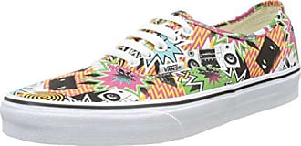 UA Authentic, Scarpe da Ginnastica Basse Uomo, Multicolore (Freshness Mixed Tape/True White), 40.5 EU Vans