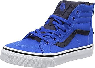 Vans UA Sk8-Hi, Sneakers Hautes Homme, Bleu (Suede/Canvas Imperial Blue/True White), 39 EU