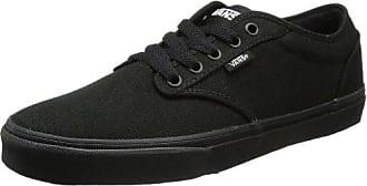 Vans UA Brigata, Sneakers Basses Homme, Noir (Washed Canvas Pirate Black/White), 42.5 EU
