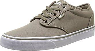 Vans Atwood - Sneakers da Uomo, Marrone (Canvas/Brindle/White), 40