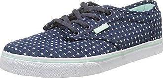 Vans Atwood Low, Zapatillas de Entrenamiento para Niñas, Azul (Stitch), 31 EU