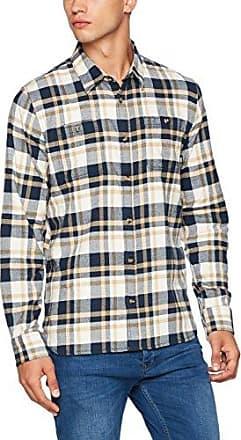 Alameda II, Camisa para Hombre, Multicolor (Dress Blues/Chili Pepper), Medium Vans