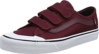 Vans MN Asher, Sneakers Basses Homme, Rouge (Washed Canvas), 40.5 EU