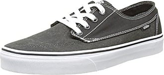 Vans - Brigata, Zapatillas Unisex Adulto, Negro (Washed Herringbone/Jet Black), 44.5 EU