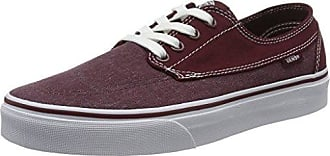 Vans M ATWOOD (CANVAS) OXBLOO, Sneaker uomo, Rosso (Rot ((Canvas) oxbloo/8J3)), 46