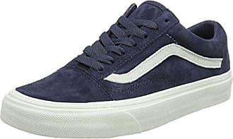 Old Skool Suede, Baskets Mixte Adulte, Bleu (Herringbone Lace/Navy/Marshmallow), 39 EUVans