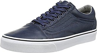 Unisex Erwachsene Authentic Sneakers, Blau (Washed Canvas/Dress Blues/Gum), Gr. 40.5 EU (7 UK) Vans