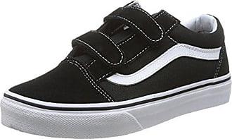 Vans Old Skool, Sneakers Basses Mixte Enfant, Noir (Acid Denim/Navy/Black), 31.5 EU (UK Child 13.5 Enfant UK)