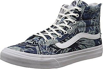 Vans sk8-Hi, Sneakers Hautes Mixte Adulte, Gris (Cord et Plaid Frost Gray/True White), 40 EU