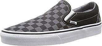 Vans U AUTHENTIC (POP) PEWTER/SC - Zapatillas de cuero unisex, color negro, talla 40.5