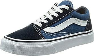 Vans U Classic, Damen Sneaker Blau Bleu (Twilight Blue/True White) 35