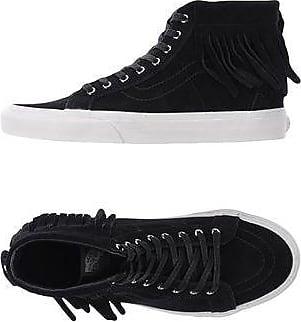 Vans U Sk8-Hi Moc Suede Black B Sneakers Abotinadas Mujer 3OoDTCqZAL