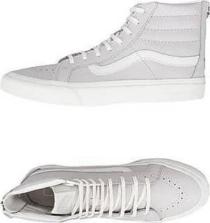 UA SK8-HI SLIM ZIP - LEATHER - CALZATURE - Sneakers & Tennis shoes alte Vans