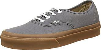 Authentic - Sneakers Basses - Mixte Adulte - Gris ((Gumsole) Pewter/Light Gum) - 36.5 EU (4 UK)Vans