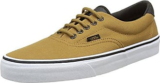 Vans Era, Sneakers Basses Mixte Adulte, Marron (Wool et Leather Parisian Night/Tortoise Shell), 35 EU (3 UK)