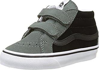 Vans Style 23 V, Zapatillas Unisex Bebé, Negro (Glitter Toe), 20 EU