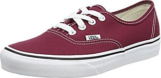 Vans Old Skool Suede/Canvas, Sneaker Donna, Rosso (Burgundy/True White), 34.5 EU