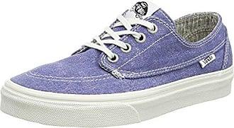 Vans Y Atwood - Zapatillas de deporte de lona para niña azul Bleu (10 Oz Canvas Navy/Gum) 29