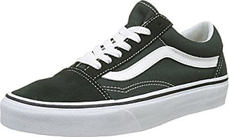 Vans Old Skool, VW9TGXR, Unisex-Erwachsene Sneakers, Mehrfarbig (Vintage/Blue Graphite/Windsor Wine), 31 EU