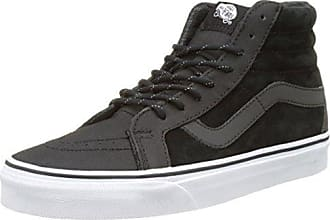 Vans U SK8-HI, Unisex-Erwachsene Hohe Sneakers, Schwarz (Black/Black/Black), 36