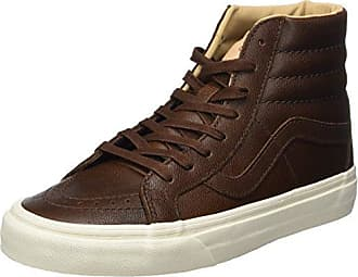 Vans Sneakers Basses Mixte Adulte, Marron (Wool Et Leather Parisian Night/Tortoise Shell), 40 EU (6.5 UK)